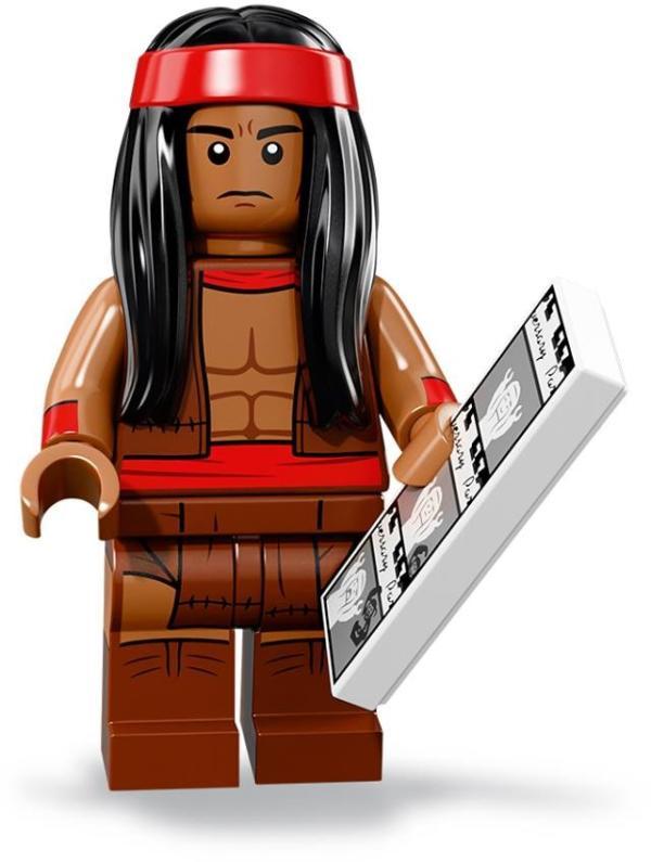 Lego Batman Movie Minifigur Serie 2 Apache Chief Figur 15 (71020)