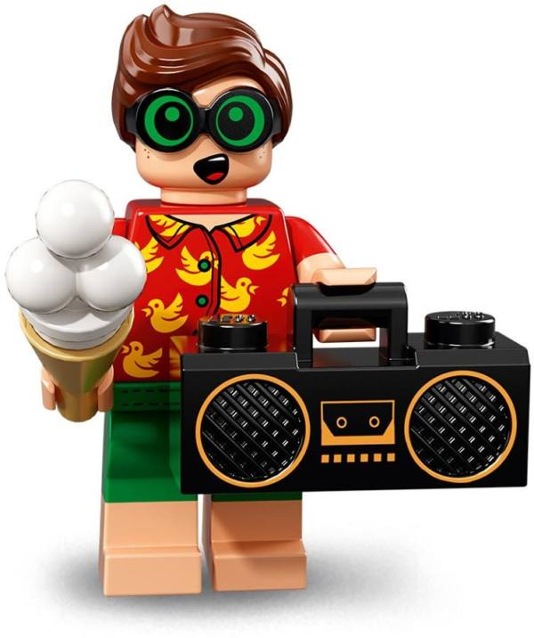 Lego Batman Movie Minifigur Serie 2 Vacation Robin Figur 8 (71020)