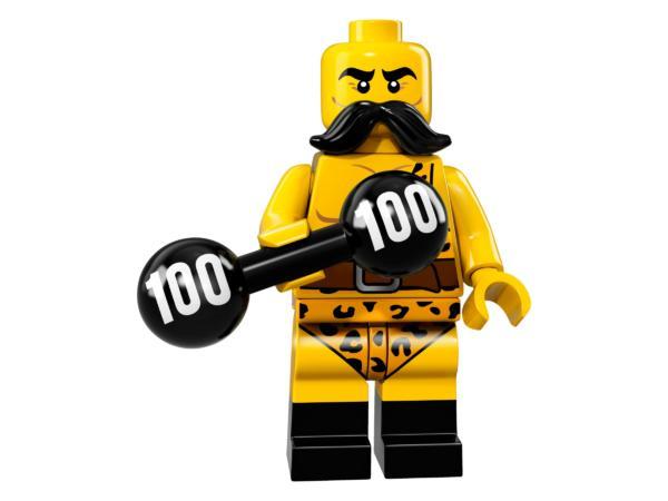 Lego Minifiguren Serie 17 Zirkus-Kraftprotz Figur 2 (71018)