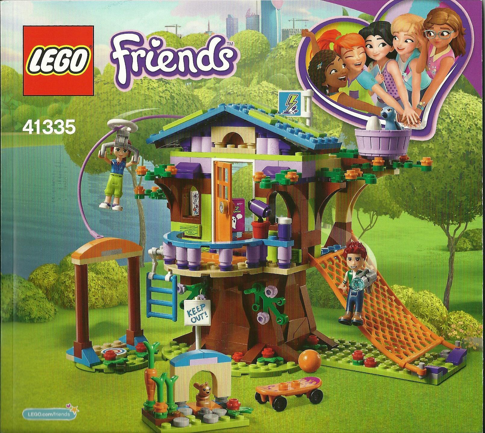Lego Friends 41335 Heft Bauanleitung