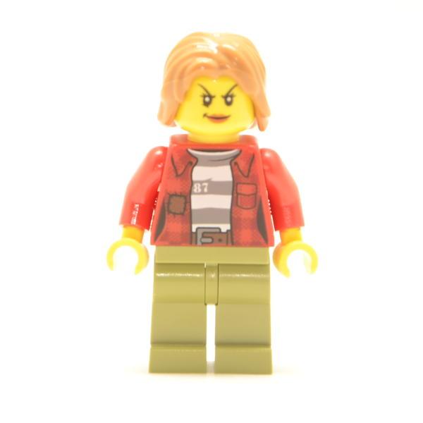 Lego Minifigur Bankräuber Weiblich (Custom)