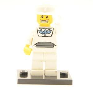 Lego Minifigur Grimmiger Seefahrer (Custom)