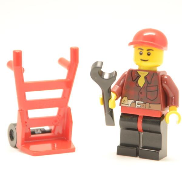 Lego Minifigur Heimwerker / Bauarbeiter (Custom)