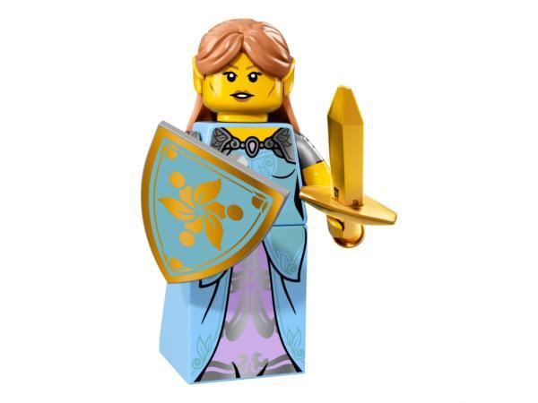 Lego Minifigur Serie 17 Elvenmädchen Figur 15 (71018)