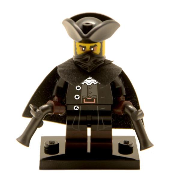 Lego Minifigur Serie 17 Highwayman Figur 16 (71018)