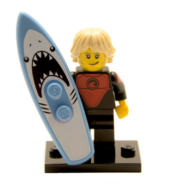 Lego Minifigur Serie 17 Profi-Surfer Figur 1 (71018)