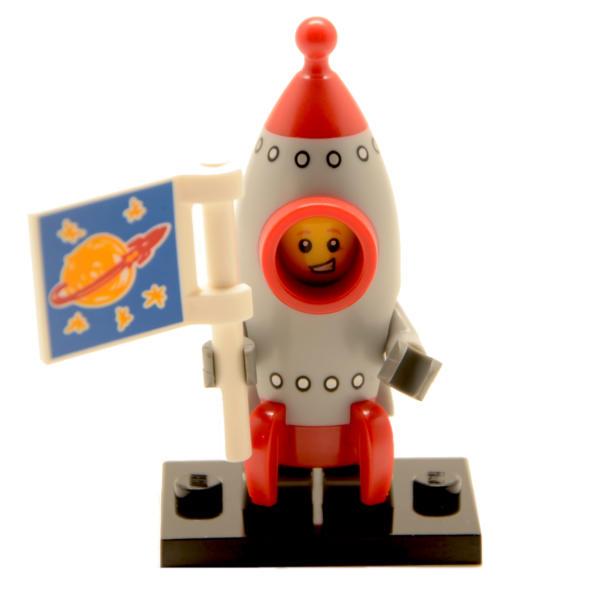 Lego Minifigur Serie 17 Raketenjunge Figur 13 (71018)