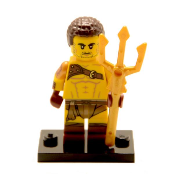 Lego Minifigur Serie 17 Roman Gladiator Figur 8 (71018)
