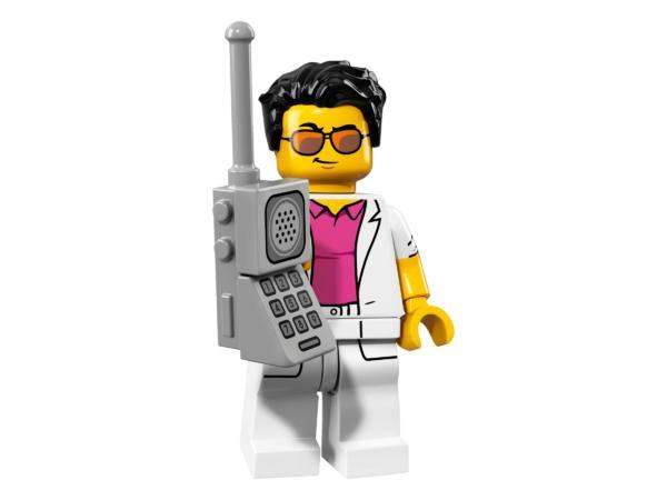 Lego Minifigur Serie 17 Yuppie Figur 12 (71018)
