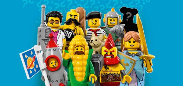 Lego Minifigur serie 17 uebersicht 71018