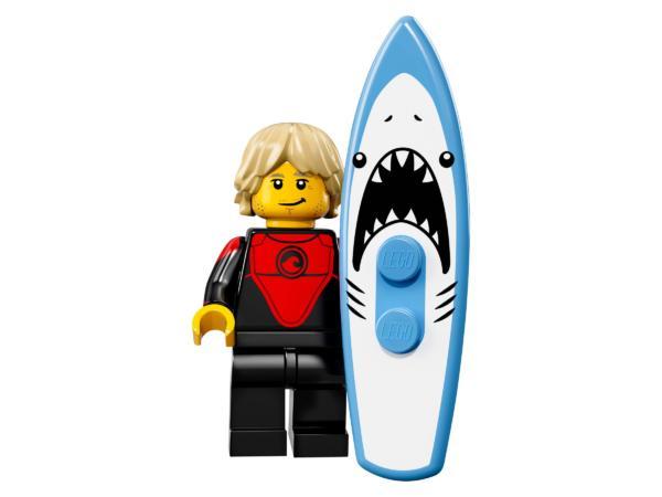 Lego Minifiguren Serie 17 Profi-Surfer Figur 1 (71018)