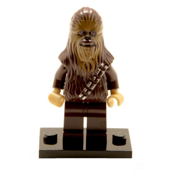 Lego Star Wars Minifigur Chewbacca (Custom) (1)