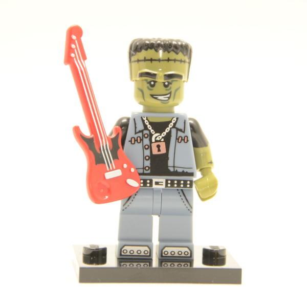 Lego Minifigur Monster Rocker Figur 12 Serie 14 (71010)