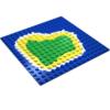 Pirateninsel Lego basisplatte 16x16