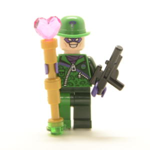 Lego Minifigur Bösewicht The Riddler (Custom)