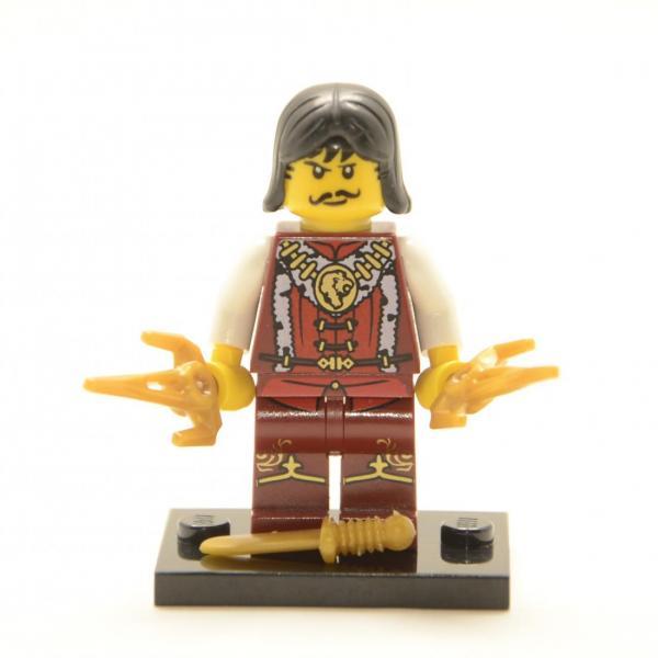 Lego Minifigur Der Königsmörder (Custom)