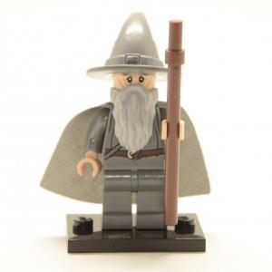 Lego Minifigur Gandalf der Graue (Custom)
