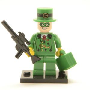 Lego Minifigur Glücksspieler Kartenspieler m. Koffer (Custom)
