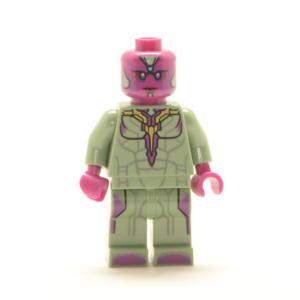 Lego Minifigur MARVEL's Vision (Custom)