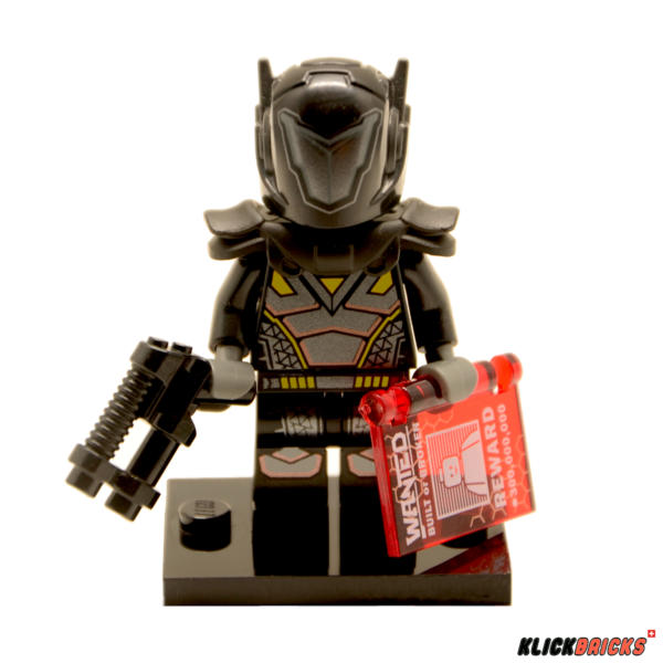 Lego Minifiguren Serie 19 Galaktischer Kopfgeldjäger Figur 11 (71025)