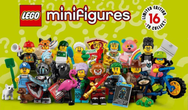 Minifigures-LEGO-Série-19