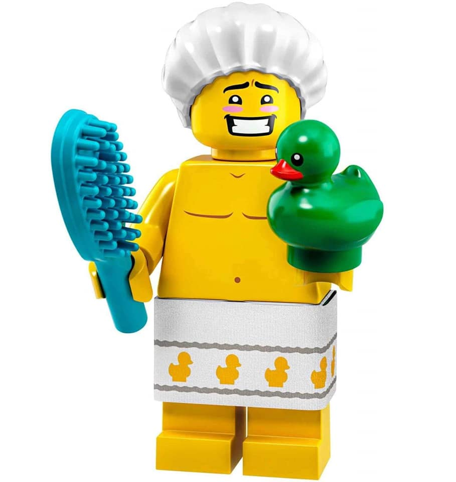 lego-minifiguren-sammelserie-collectible-minifigures-serie-19-71025-2019-2-alternative-figur-2-Dusch-Kerl
