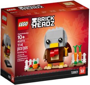 40273 LEGO BrickHeadz Erntedank Truthahn