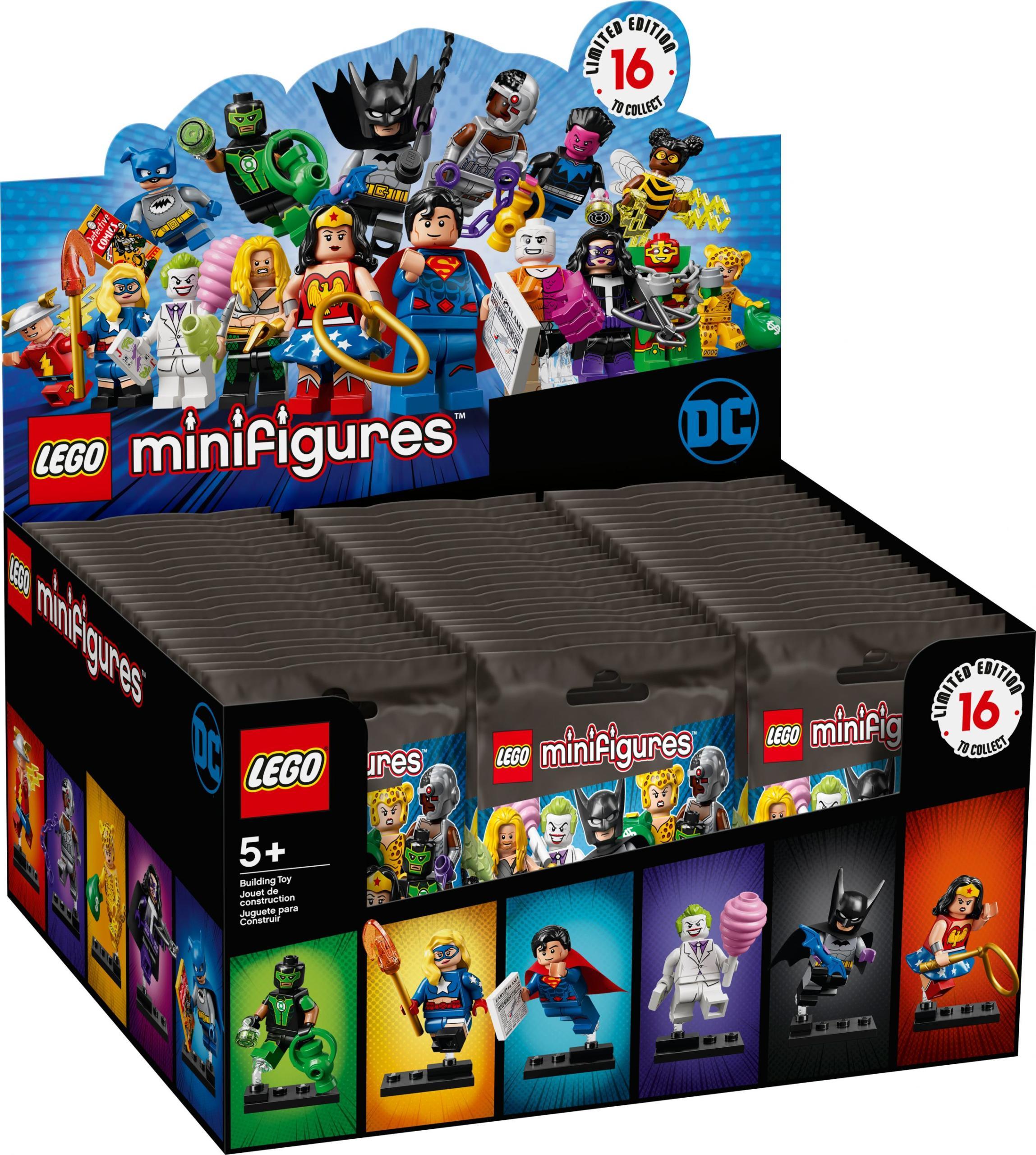 Lego Superhelden Green Lantern Neu Sinestro Figur mit Waffe Justice League