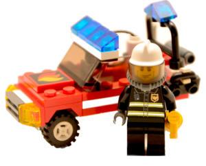 Classic-lego-Feuerwehrmann-mit-Auto