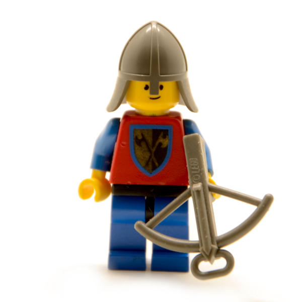 Lego Minifigur Castle Turmwache mit Armbrust