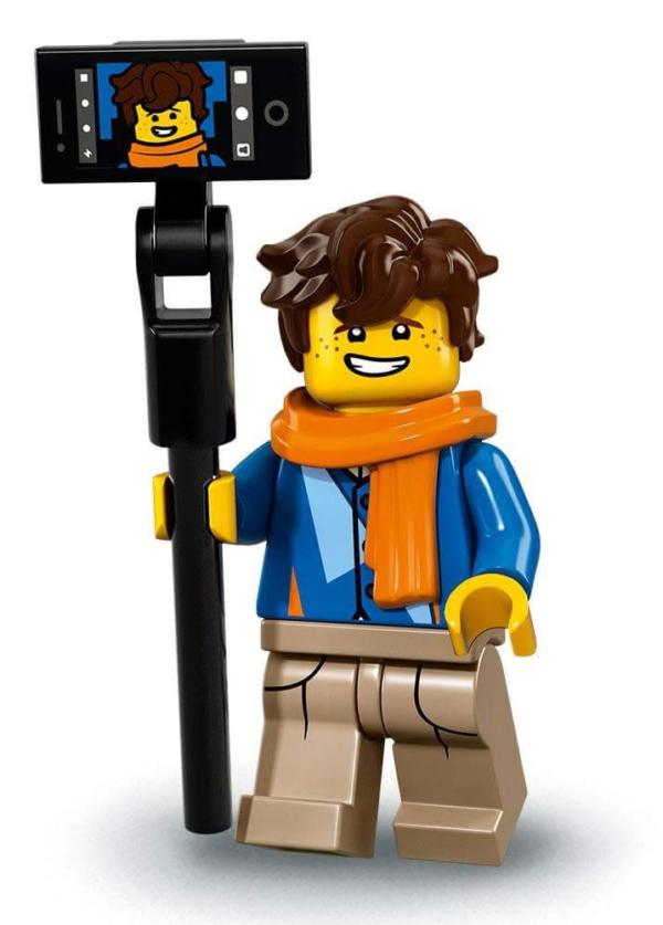 THE LEGO® NINJAGO® MOVIE™ Minifigur Jay Walker Figur 6 (71019)