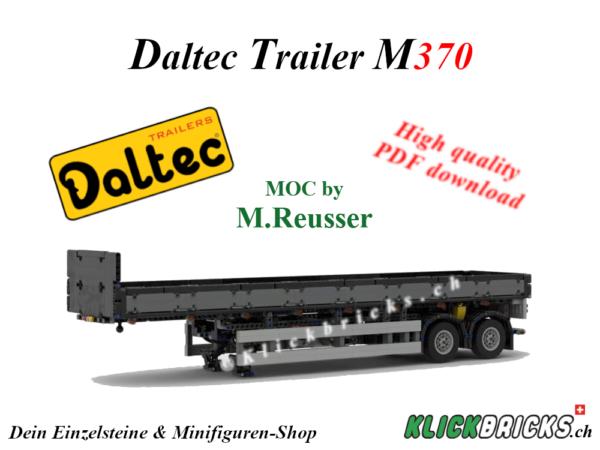 Daltec Trailer M370 MOC PDF Bauanleitung Instructions