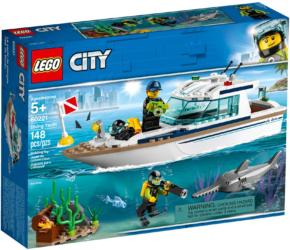 60221 LEGO® City Diving Yacht Tauchyacht (1)