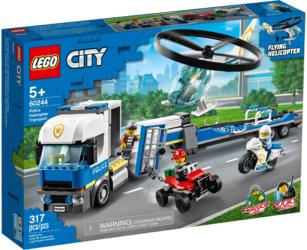 60244 LEGO® City Police Helicopter Transport Polizeihubschrauber-Transport