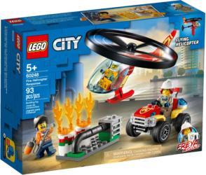 60248: LEGO® City Fire Helicopter Response / Einsatz mit dem Feuerwehrhubschrauber