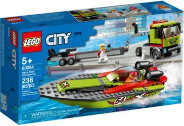 60254 LEGO® City Race Boat Transporter Rennboot-Transporter (1)