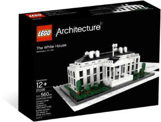 21006 LEGO® Architecture The White House Das weisse Haus