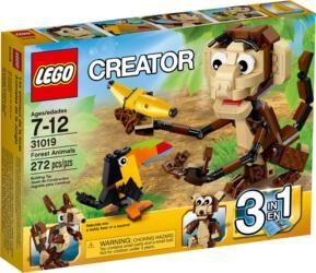 31019 LEGO® Creator Forest Animals Urwald Tiere