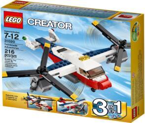 31020 LEGO® Creator Twinblade Adventures Flugzeug-Abenteuer
