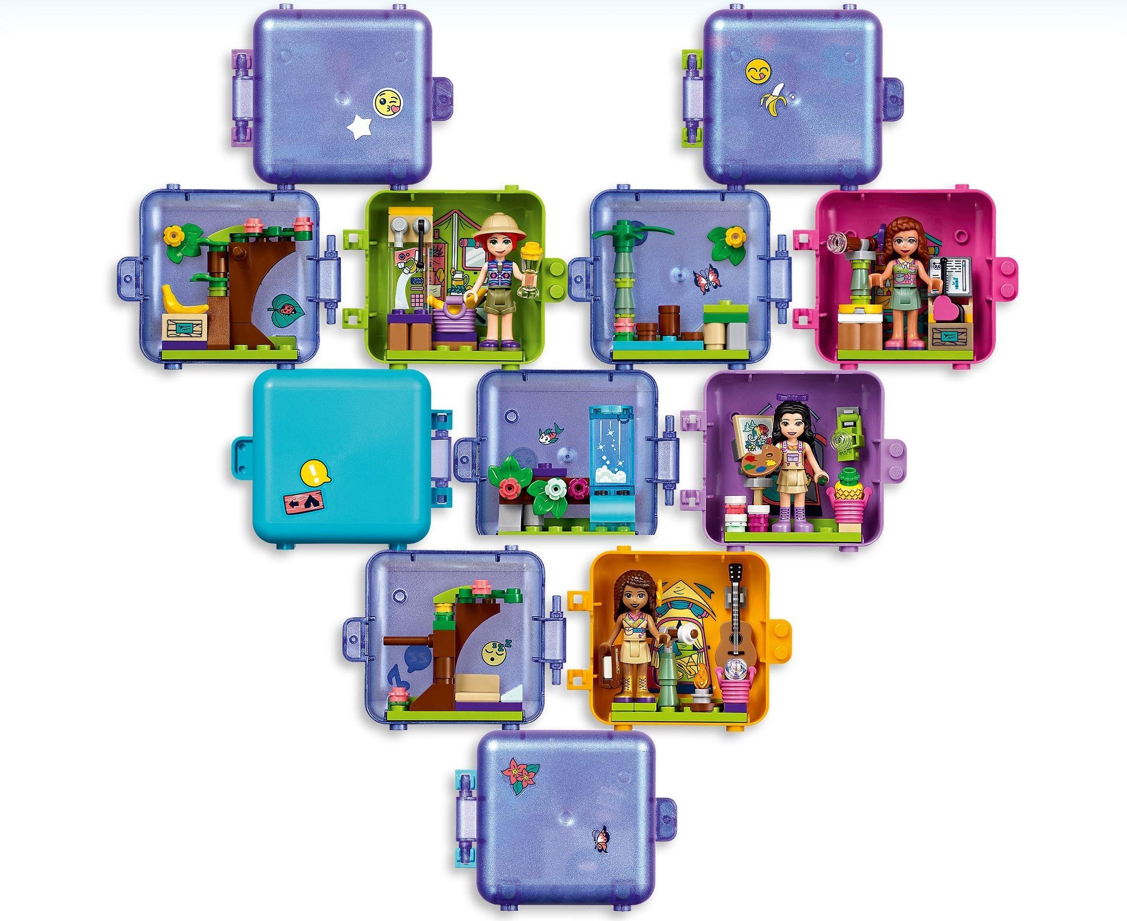 41435: LEGO® Friends Stephanie's Jungle Play Cube ...
