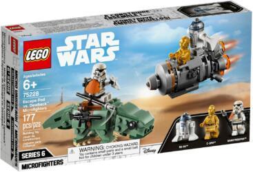 75228 LEGO Star Wars Escape Pod vs. Dewback Microfighters