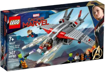 76127 LEGO® Marvel Super Heroes Captain Marvel and The Skrull Attack Captain Marvel und die Skrull-Attacke