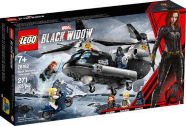 76162 LEGO® Marvel Super Heroes Black Widow's Helicopter Chase Black Widows Hubschrauber-Verfolgungsjagd