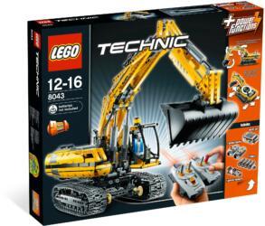 8043: LEGO® Technic Motorized Excavator / Motorisierter Raupenbagger