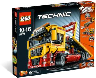 8109 LEGO® Technic Flatbed Truck Tieflader