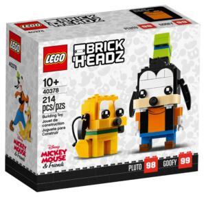 40378 LEGO BrickHeadz Goofy und Pluto