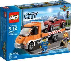 60017 LEGO® City Flatbed Truck Tieflader