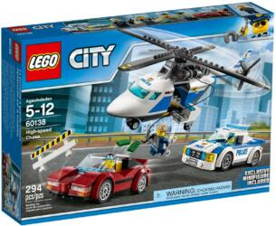 60138 LEGO® City High-speed Chase Rasante Verfolgungsjagd