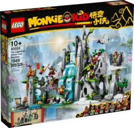 80024 LEGO® Monkie Kid The Legendary Flower Fruit Mountain Der legendäre Berg der Blumen und Früchte
