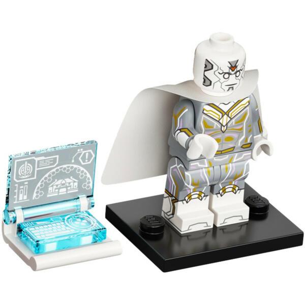 Lego Marvel Studios Minifiguren White Vision Figur 2 (71031)